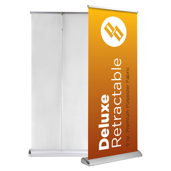 Peraza Design - Deluxe Retractable Banner Stand