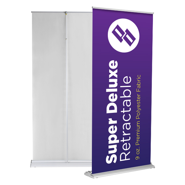 Peraza Design - Super Deluxe Retractable Banner Stand